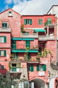 The ancient back street of Amalfi.