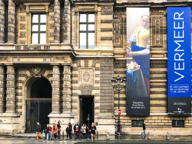 """Vermeer and the Masters of Genre Painting"" can be seen  is at the Louvre  until May 22, 2017."
