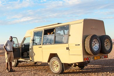 Namibia-Wilderness Truck.