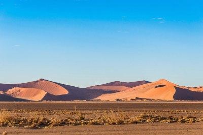 Namib-Dunes at Sossusvlei.