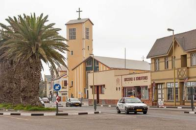 The resort town of Swakopmund is a living monument to Namibia's colonial past as German South-West Africa.