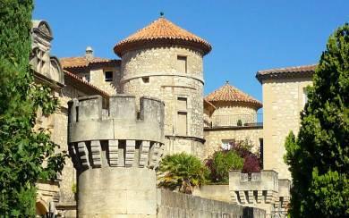 Provence-Chateau Florans.
