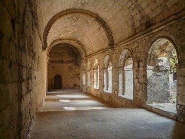 Antheron-Silvacane cloister..