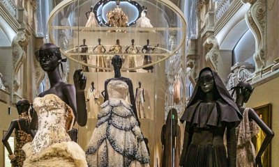 "Christian Dior's famed ""Juno"" ball gown takes center stage."