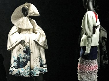 Dior-Great Wave Coat.