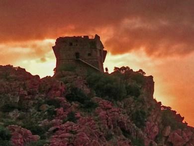 Corsica-Porto sunset.