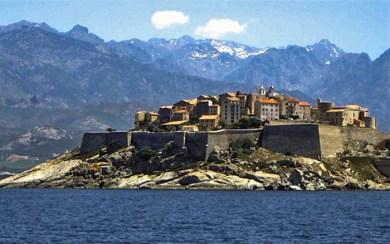 Corsica-Calvi fortress.