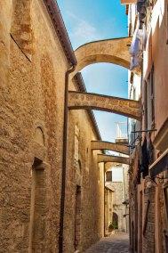 Corsica-Bonifacio alleyway.