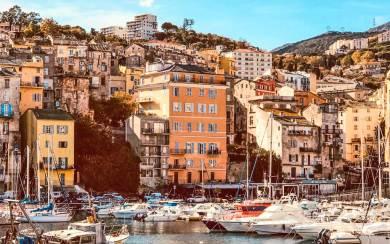 Corsica-Bastia old port.