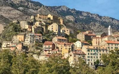 The mountain city of Corte  (2)