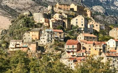 The citadel city of Corte  (1)