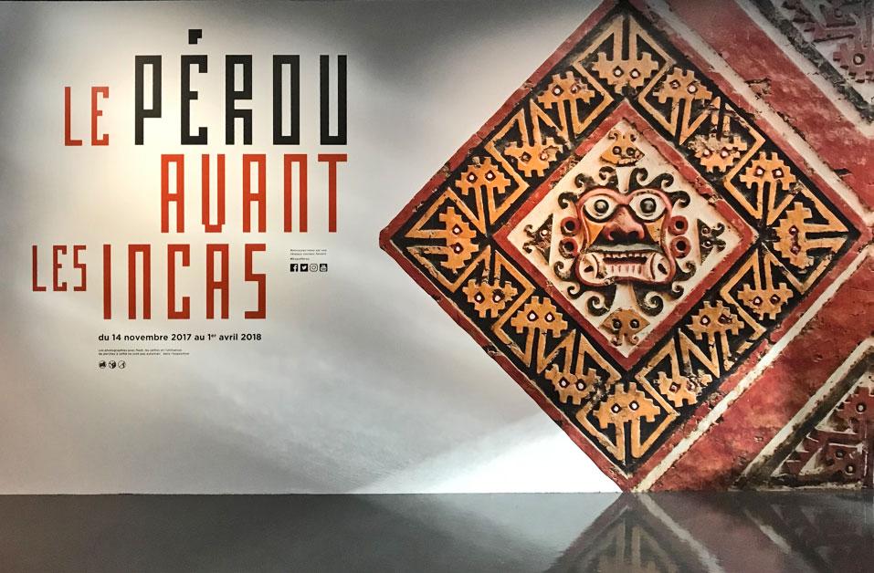 Musee du Quai Branly, Paris – Peru before the Incas