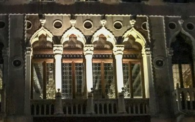 Venice - night window 1.