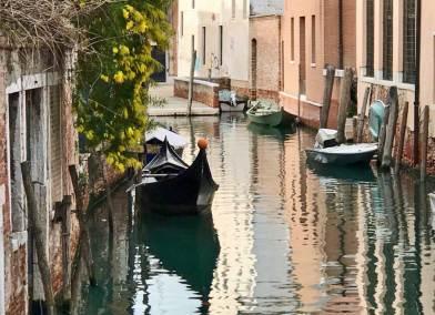 Venice-Dorsoduro gondola.