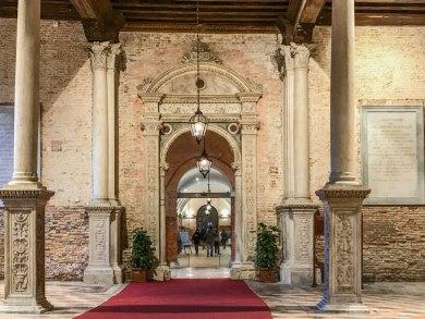 Venice- City hospital entrance.