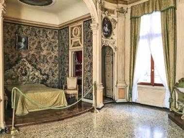 Venice-Rezzonico bedroom.