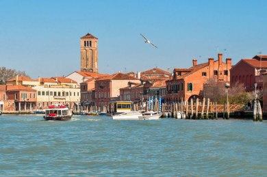 Venice-Murano bell tower.