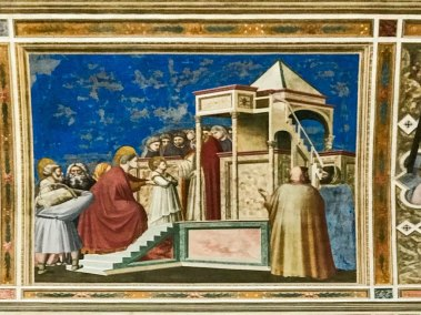 The Presentation of Mary in the Temple.