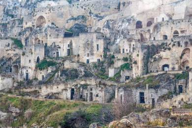Matera-Ancient Sasso Ceveoso.