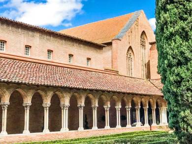 Toulouse - cloister.