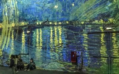A glimpse at Van Gogh.