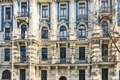 Riga-Art Nouveau Greek.