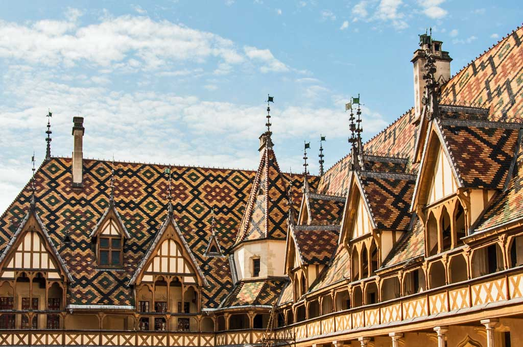 Touring the Archeological Sites of Burgundy – Les Hospices de Beaune