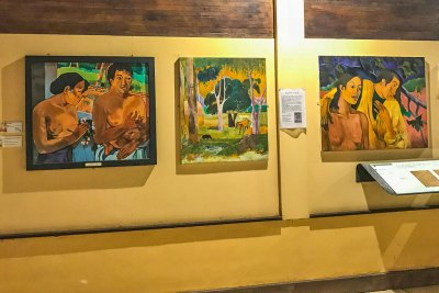 Reproductions of works from Paul Gauguin's Polynesian period.