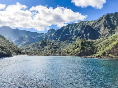 Marquesas-Hiva Oa Hiva Oa Atuona Bay .