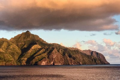 Marquesas-Nuku Hiva bronze.