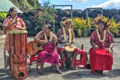 Marquesas-Hapatoni musicians.