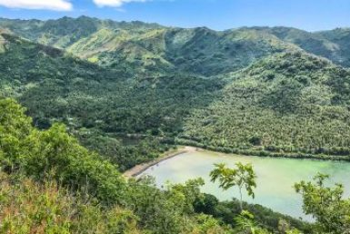 Marquesas-Nuku Hiva Tajpivai Valley.