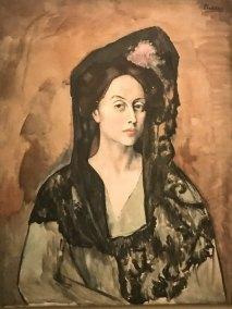"""Portrait of Madame Canals,"" Pablo Picasso, 1905 (Picasso Museu, Barcelona)."