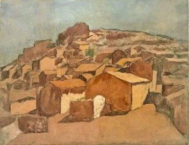 """""""Gosol Landscape,"""" Pablo Picasso, 1906 (Musée National Picasso-Paris)"""