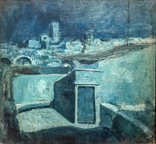 Picasso-Barcelona Rooftops 1.