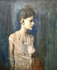 """Girl in a Chemise,""  Pablo Picasso, 1905 (The Tate, London)."