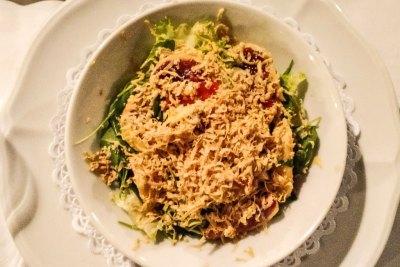 Barcelona-Academia salad.