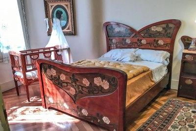 Gaudi-Pedrera bedroom.