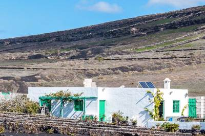 Lanzarote farm house.