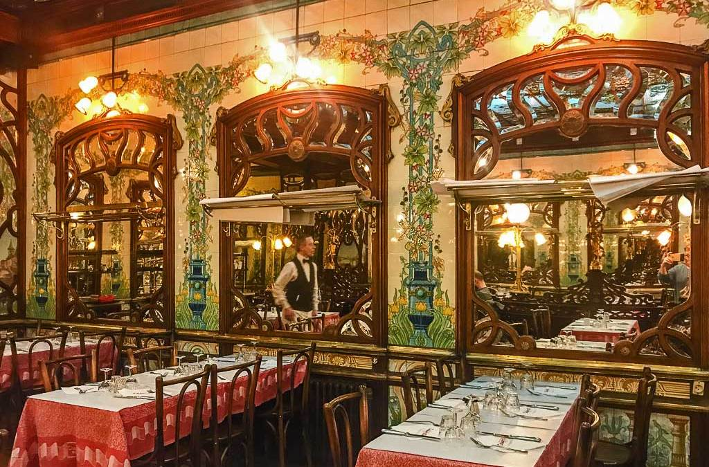 The rebirth of a Belle Epoque Fast Food Tradition – Bouillon Chartier Montparnasse