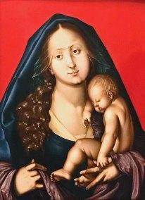 Madonna with Sleeping Child. Hans Wydyz (1484-1545 - Augustiner Museum).