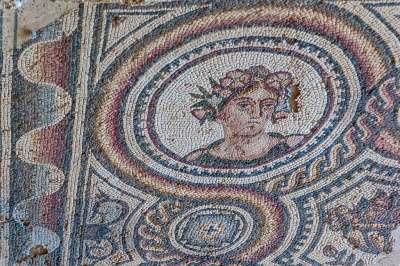 Loupian Roman Villa - Mosaics details (1).