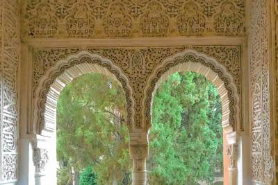 Stucco Arches in the Nasrid Palaces (3).