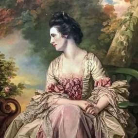 Portrait of a Lady (1768. Francis Cotes, oil on Canvas)