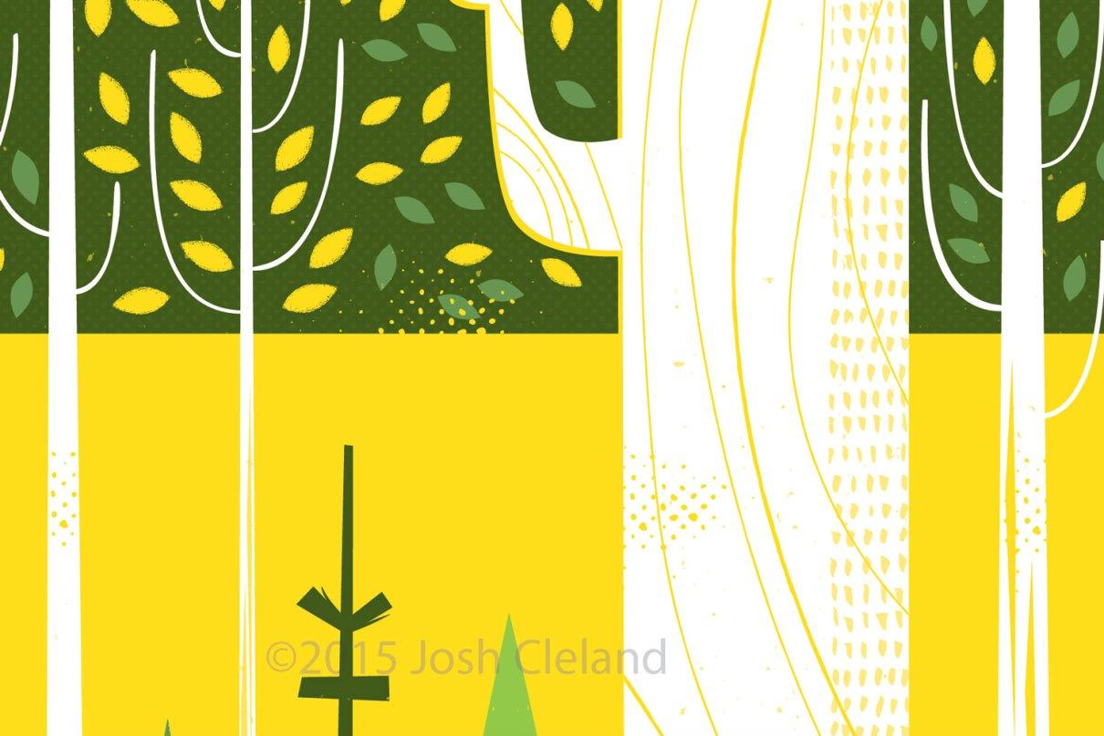 Joyful woods detail 2