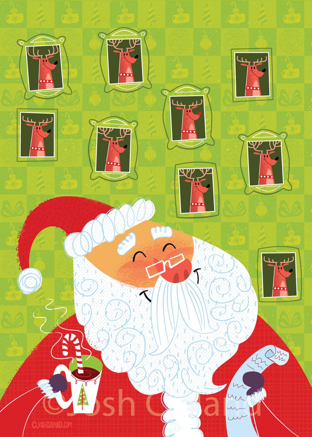 Santa and his list 2
