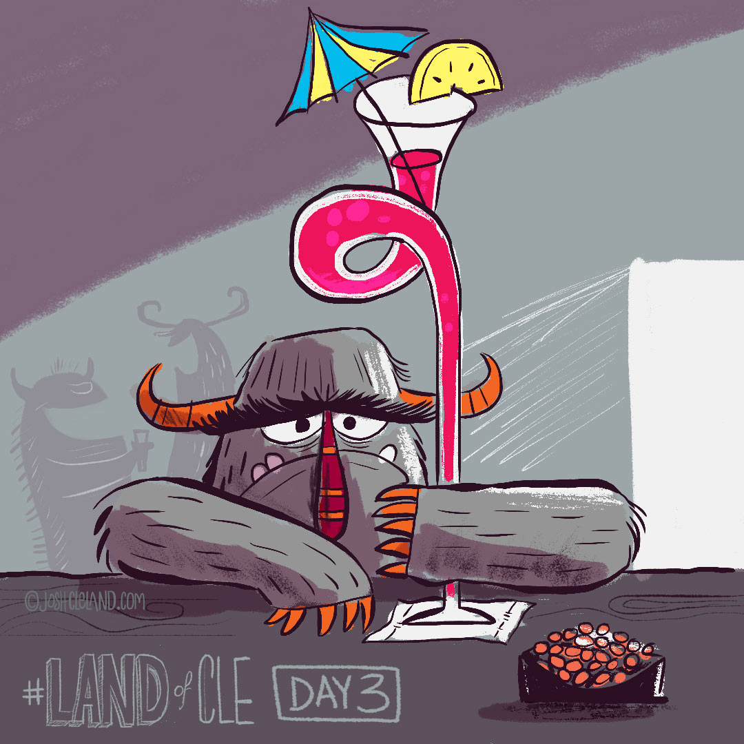 Land of Cle day 3 by Josh Cleland
