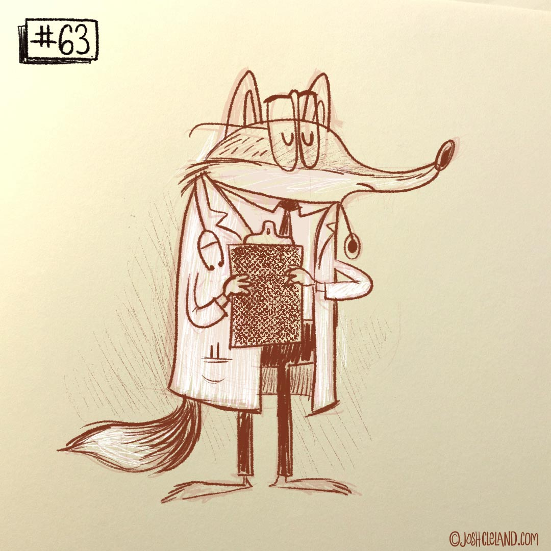 Land of Cle Fox doctor illustration by Josh Cleland