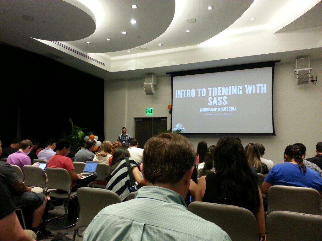 Josh Eaton speaking at WCMIA 2014