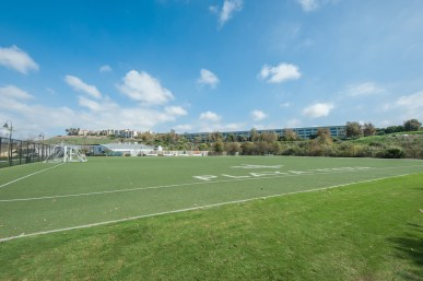 Soccer Field at Playa Vista Sports Park in Playa Vista, CA